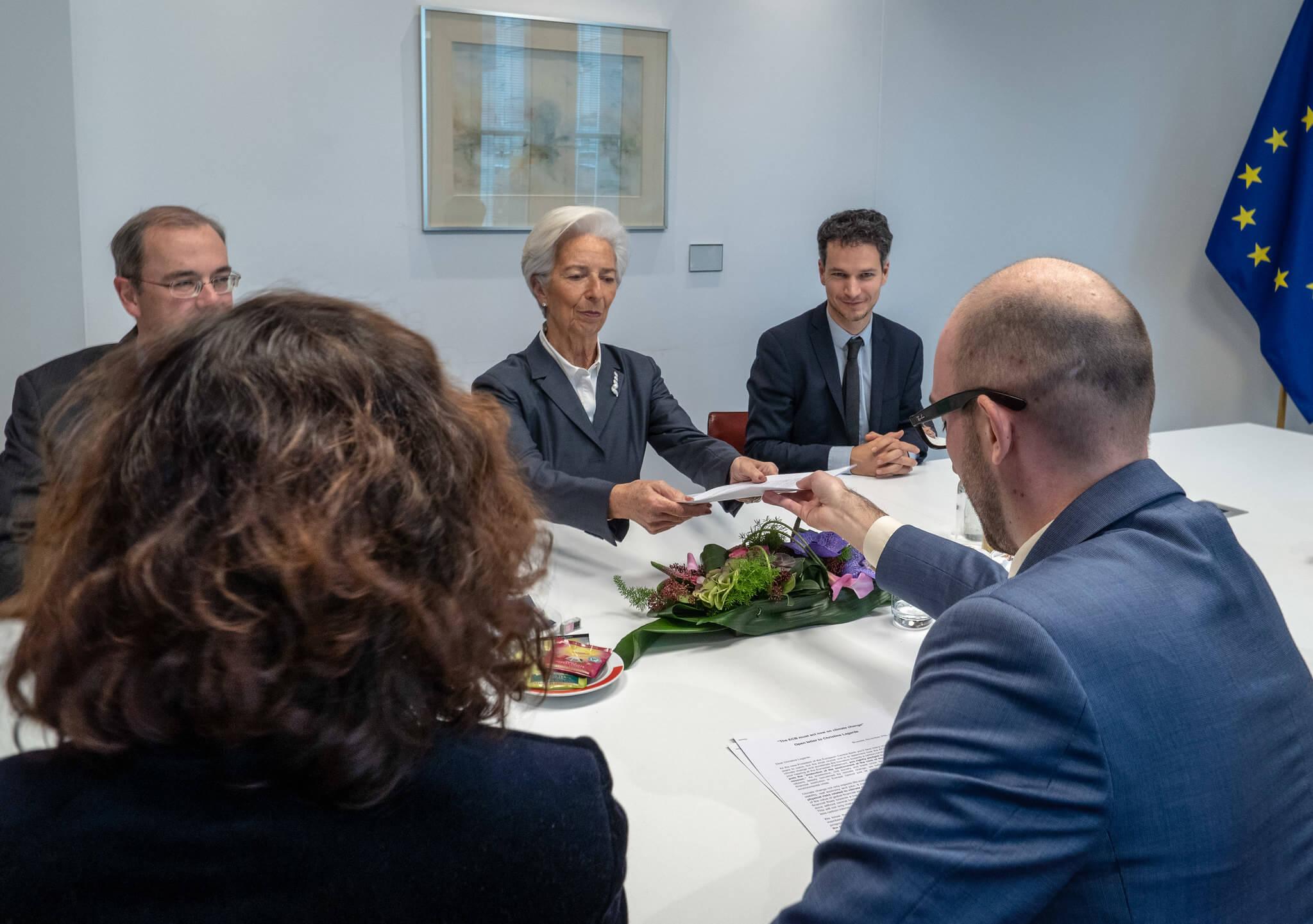 © Positive Money Europe - Mrs Lagarde ECB