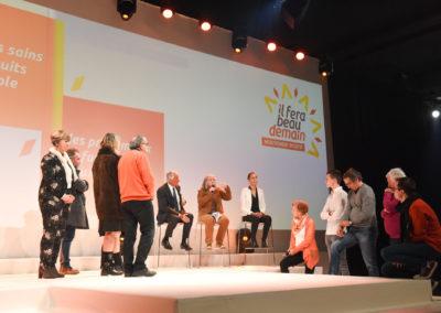 Il fera beau  demain – Inventing a new political movement